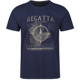 Regatta Cline IV T-Shirt Heren, navy